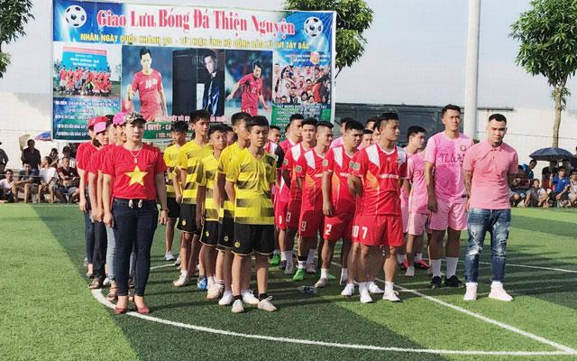 Phan Hải cùng Tin Lớn & Anh Em hòa 3-3 với Hữu Bằng trong trận giao hữu thiện nguyện