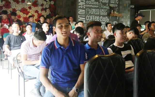 Đội bóng của Quốc Vượng tham gia giải vô địch sân 7, KV 3, cúp Tuấn Sơn