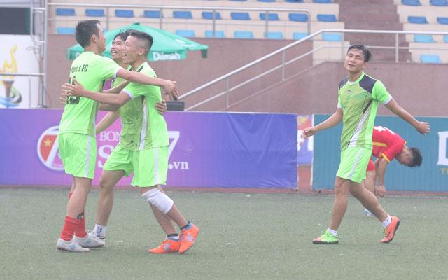 The Mario's và Tô Ký vào chung kết vòng loại vô địch sân 7 Hà Nội, KV1