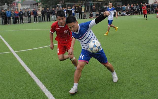 """Thắng """"tèo"""", ngôi sao sáng tại giải hạng nhất Nghệ League 2017"""