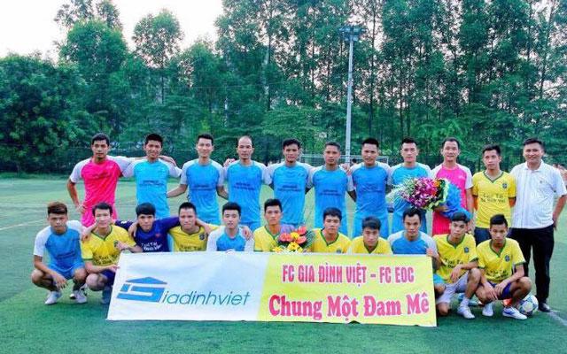 FC Gia Đình Việt sắp đá giao hữu với Trà Dilmah