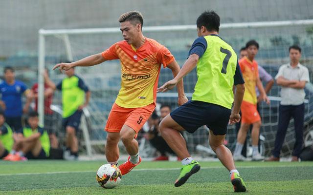 Trà Dilmah thắng chủ nhà FC Gia đình Việt trong chuyến du đấu ở Bắc Ninh