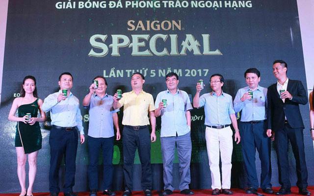 Lễ ra mắt giải bóng đá phong trào ngoại hạng HPL S5