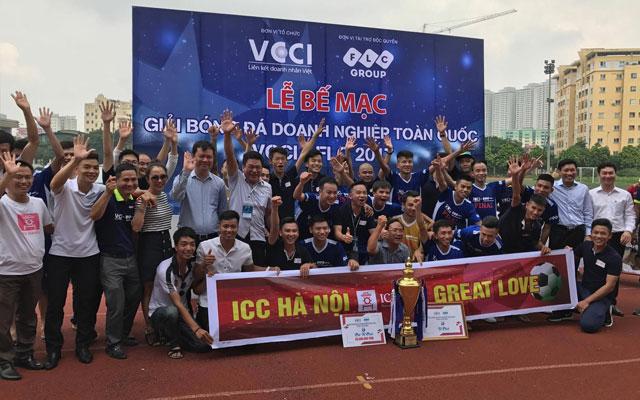 ICC Hà Nội vô địch giải VCCI – cúp FLC 2017