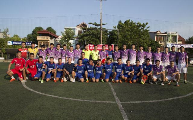"""Lâm """"Voi"""" tỏa sáng, Du Lịch FC hạ Lucky Thanh Hà với tỷ số 4-2"""