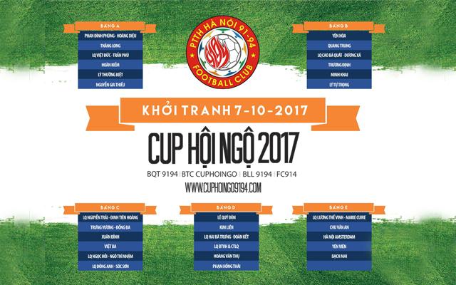 Siêu Cúp Hội Ngộ 91-94 trước mùa giải 2017: Long hổ xưng vương