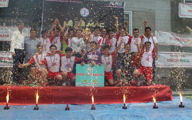 Thạch Đà 1 bảo vệ thành công chức vô địch Thạch Đà Open Cup