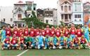 Ra mắt CLB bóng đá Cựu học sinh PTTH toàn Hà Nội khóa 1991-1994