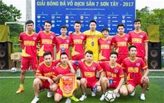 Khai mạc giải vô địch sân 7 Sơn Tây lần 1 - 2017