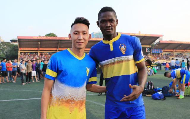 Thực hư chuyện cầu thủ châu Phi khoác áo Cường Quốc ở HPL-S5?