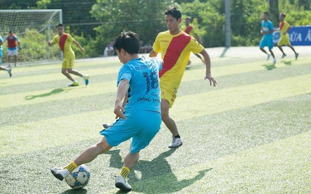 Vĩnh Tường, P.K.K bay cao ở lượt cuối vòng bảng giải vô địch Sơn Tây 2017