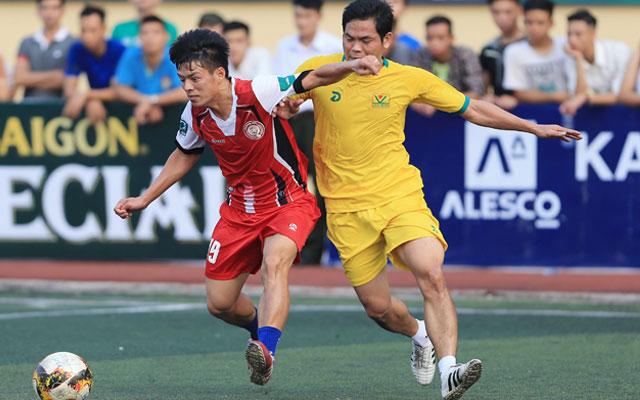 """Chung """"Tám"""" giành giải Cầu thủ xuất sắc nhất vòng 6 HPL-S5"""