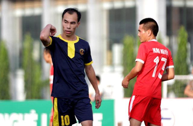 Tân Kỳ dính án kỷ luật tại giải Ngoại hạng Nghệ League 2017