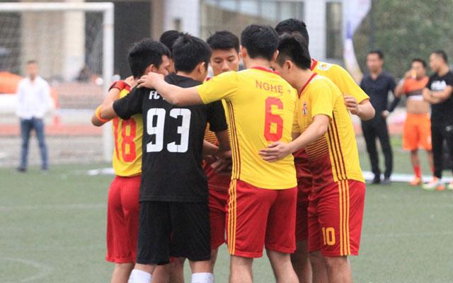 Vòng 2 Nghệ League: Nghệ + lên ngôi đầu, CĐ Hà Tĩnh gây bất ngờ