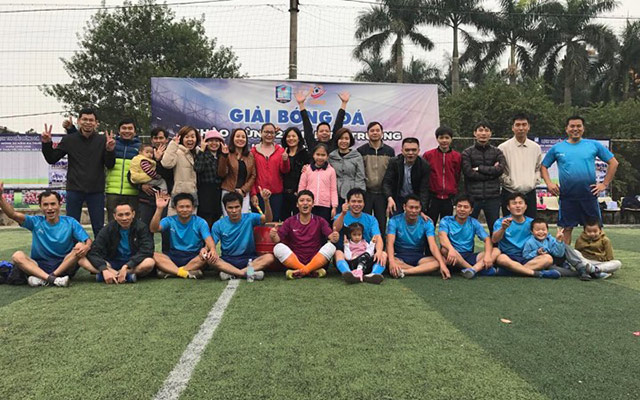 Giải bóng đá niên khóa 1995-1998 Lý Thái Tổ: A1 tranh vô địch địch với lớp G