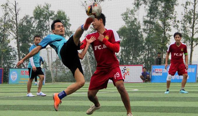 PTSC Thanh Hóa toàn thắng giải Nghi Sơn League 2018