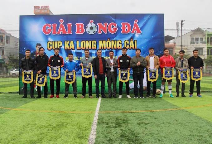 Sôi động giải bóng đá Móng Cái cúp Ka Long 2018