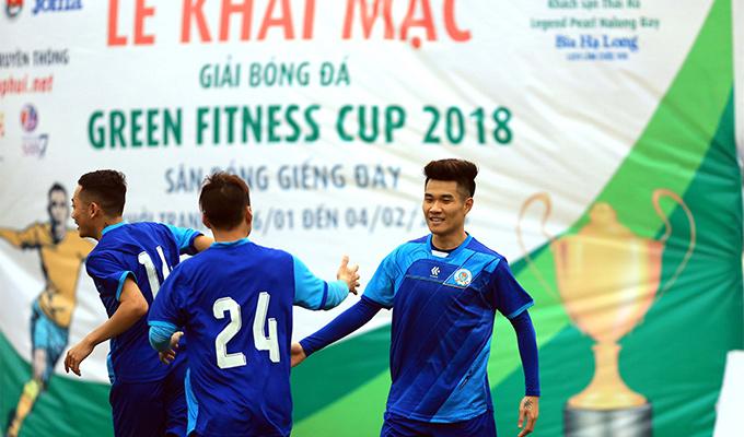 Vòng 1 Green Fitness Cup: Con trai HLV Đinh Cao Nghĩa tỏa sáng
