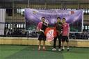 FC Moon và ĐH Công đoàn đá bóng từ thiện