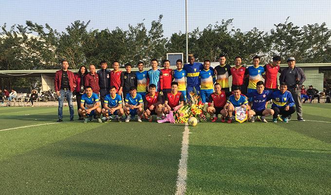 Long 'nháy' tỏa sáng trong trận giao hữu tổng kết của FC Phúc Anh