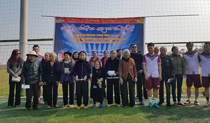 Phi Sơn, Hoàng Thịnh thi đấu từ thiện
