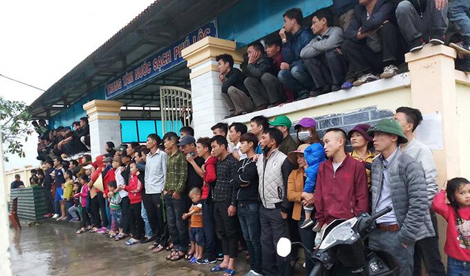 Giải bóng đá Yên Thành khai mạc ấn tượng
