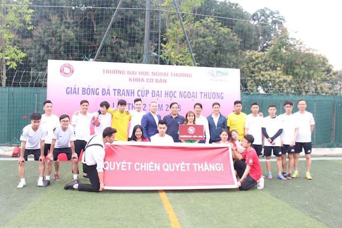 Ngôi sao của FC Văn Minh dự giải ĐH Ngoại thương 2018