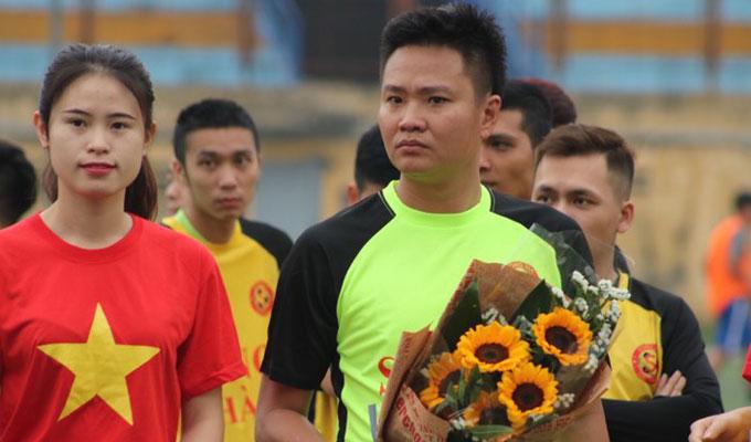 Cựu ngôi sao đội Công an Hà Nội dự giải bóng đá Song Hà 2018