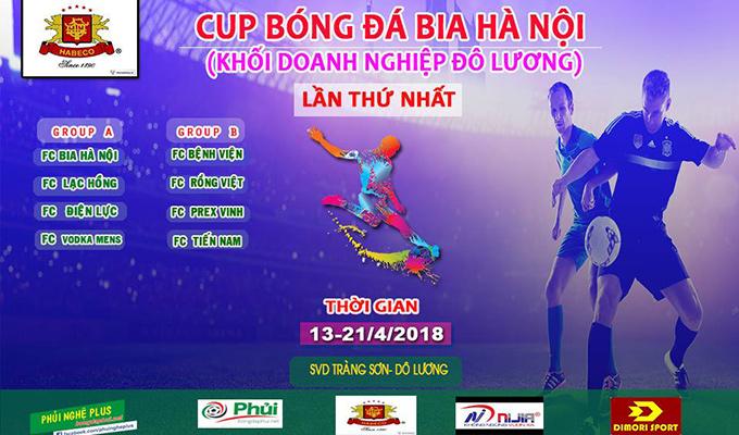 Giải bóng đá khối doanh Nghiệp Đô Lương: Ngày hội ở quê Công Phượng