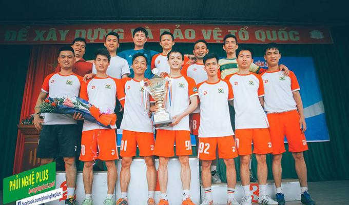 Dàn sao Văn Minh đưa Vinh vô địch Đại hội TDTT Nghệ An