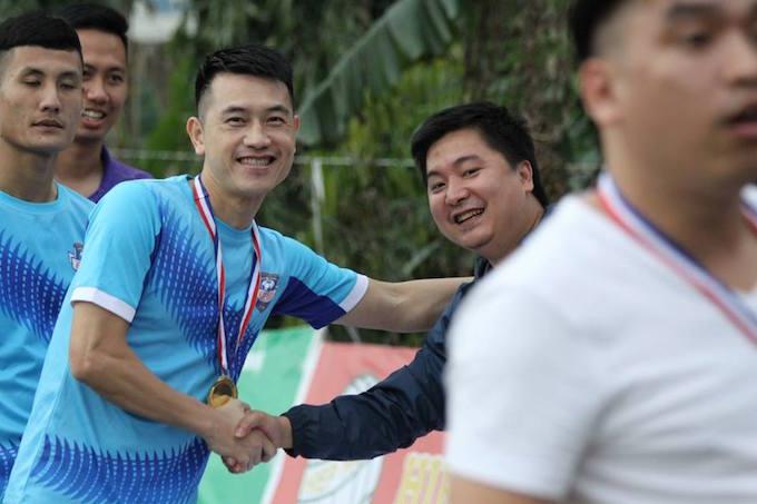 """Cường """"trắng"""" ghi bàn, Ecofoot vô địch Cúp C1 Hà Nội"""
