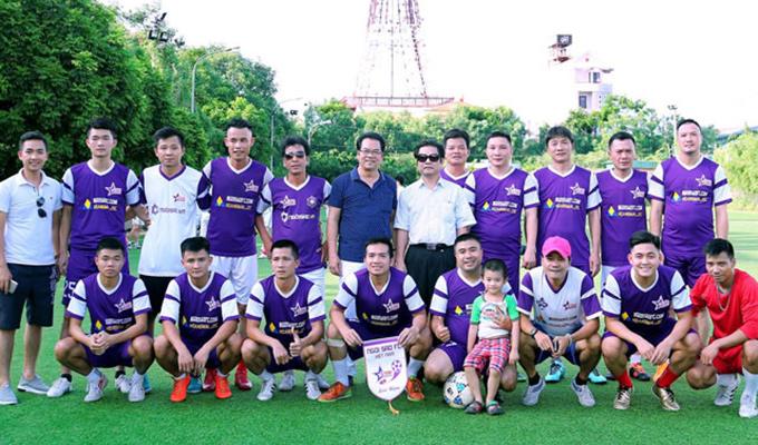 Nhiều danh thủ, nghệ sỹ tham gia trận đấu tri ân trọng tài Dương Ngọc Tân