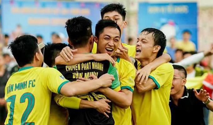 Hùng Cọt nghẹn ngào khi lần đầu vô địch cùng Văn Minh