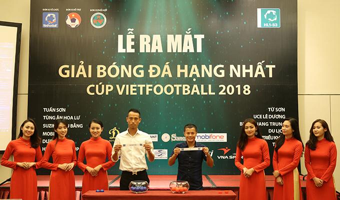 Tuấn Hưng đối đầu với Như Thành ở giải hạng Nhất Cúp Vietfootball