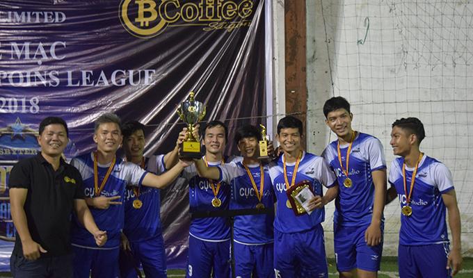 """Tuấn """"cô"""" cùng Phúc Âm Bình Thuận vô địch PCF Champions League 2018"""