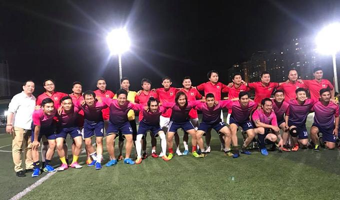 Tonat FC so giày với Điện ảnh Sài Gòn: Vui là chín, mồ hôi là mười!