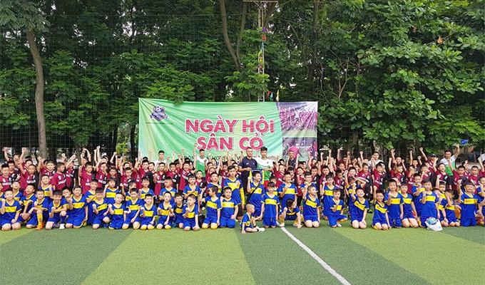Giải bóng đá học đường Dsoccer: Ngày hội của cầu thủ nhí không chuyên