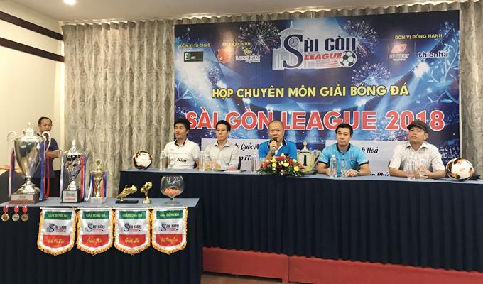 Giải sân 11 Sài Gòn League 2018: Vui là chính, lấy mồ hôi là mười
