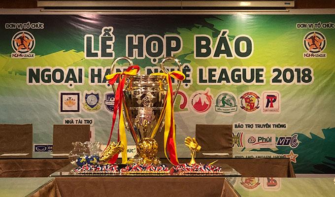 Khởi tranh Ngoại hạng Nghệ League 2018 vào cuối tuần này