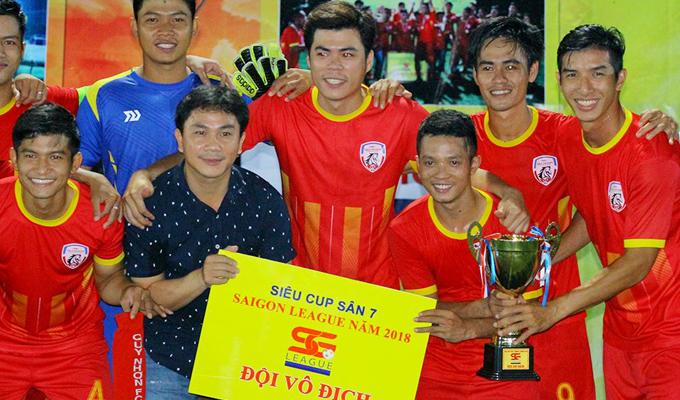Siêu cúp SG League 2018: Sao HAGL nhận thẻ đỏ, Ngân Hoan chiến bại trước Quy Nhơn