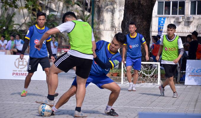 Xác định 4 đội bóng tham dự VCK giải bóng đá đường phố 2018