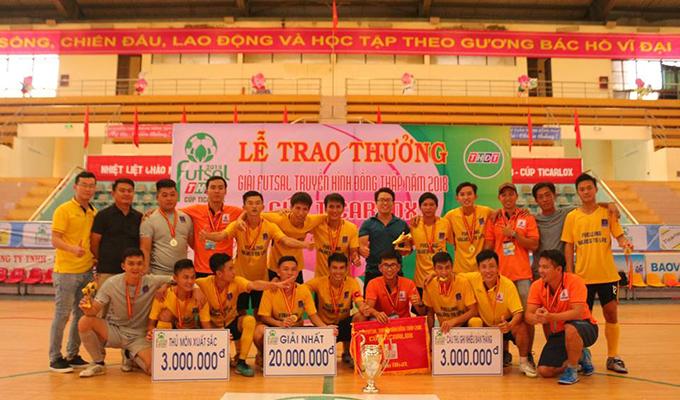 Khí Cà Mau vô địch cúp TH Đồng Tháp 2018: Chỉ có thể nói là đẳng cấp!