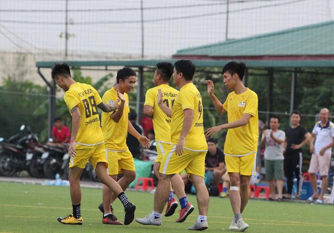 FC Hồ Gươm-ứng viên vô địch giải chung cư 2018