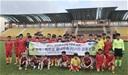 U13 Thăng Long vượt qua U12 Suwon United trong trận cầu vui vẻ