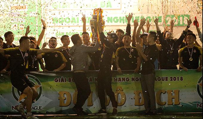 Nghệ Premier League 2018 hạ màn: Ngôi vô địch ngoạn mục của Nghệ +