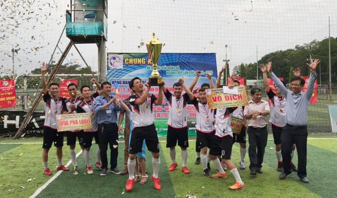 Đánh bại Bắc Việt, Việt Thắng lần đầu lên ngôi vô địch giải bóng đá ngành Thép