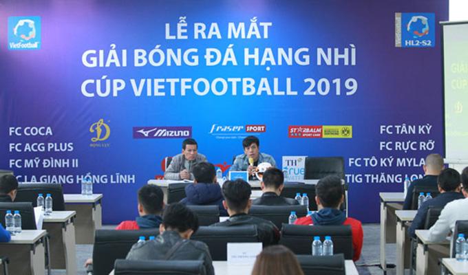 Giải hạng Nhì – Vietfootball 2018: Hấp dẫn thể thức mới