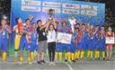 Cup Kingtek 2019: QBV futsal 2017 đá hỏng penalty, Phú Hòa FC vẫn vô địch