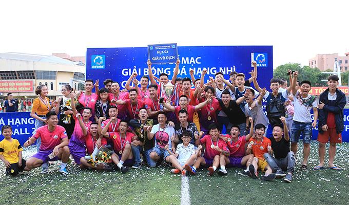 Bế mạc HL2 - S2: Mỹ Đình 2, Hồng Lĩnh giành vé lên hạng Nhất