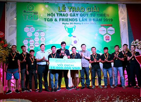 Đội VCG – Bankmart vô địch chương trình gây quỹ từ thiện TGB & FRIENDS